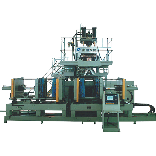 SCJ50B×2 Double-Station Extrusion Blow Molding Machine System
